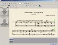 Screenshot MuseScore, freies Notensatzprogramm