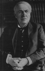 Thomas Alva Edison aus der Porträt Sammlung