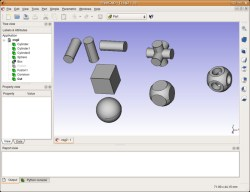 Screenshot FreeCAD