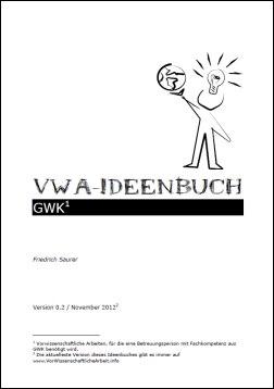VWA Ideenbuch Geographie und Wirtschaftskunde
