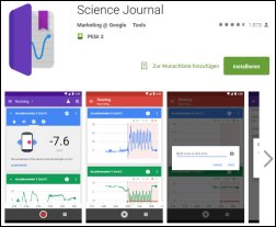 App Science Journal
