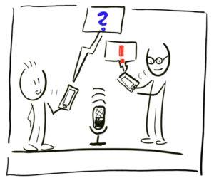 Telefoninterviews aufzeichnen